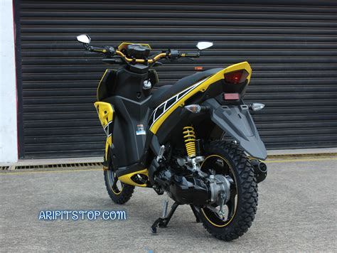 Yamaha Aerox Modifikasi by Gambar Modifikasi Motor Aerox Modifikasi Yamah Nmax