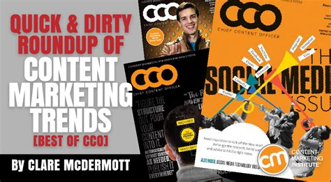 Cover Cco and roundup of content marketing trends best of cco 2015