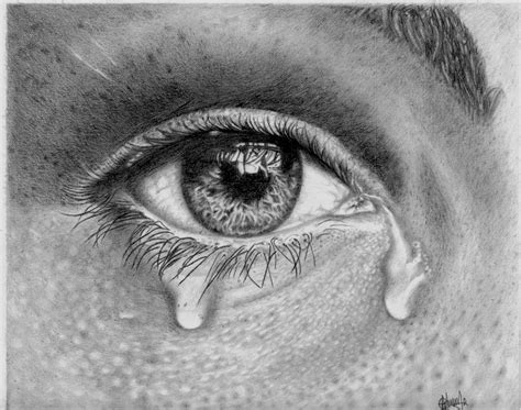 the crying eye mental health is not a joke