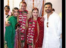 Wedding Of Sanjay Dutt
