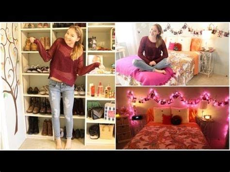 Bethany Mota Room Tour by Stilababe09 Fall Bedroom Tour Youtubers