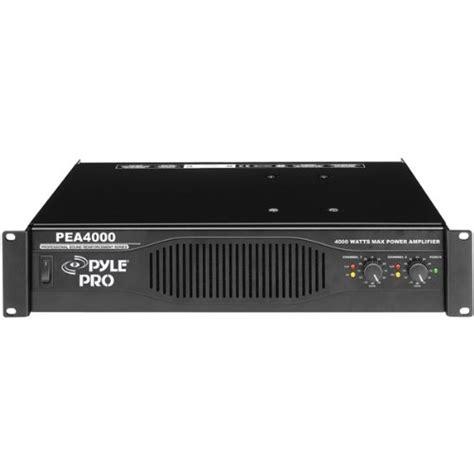 Power Lifier 4000 Watt pyle pro pea4000 professional 4000 watts stereo power lifier smaononaeraa