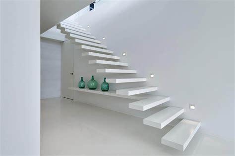 corian treppe auskragende stufen