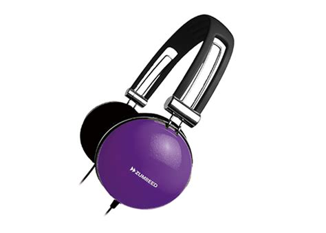 Zumreed Color Earpad Portable Zhp 008 Violet zumreed zhp 400 portable stereo headphones violet products