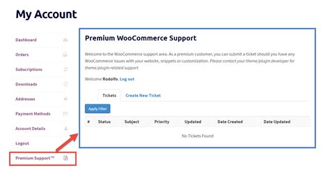Woocommerce Account Page How To Add Custom Tab Generatepress Woocommerce My Account Template