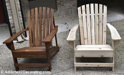 Staining Adirondack Chairs by 25 Best Ideas About Stains On Dining