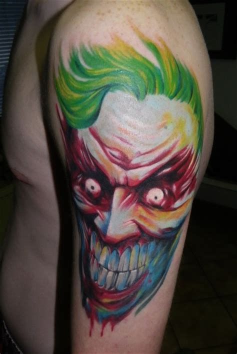 tattoo von joker bloodpin joker tattoos von tattoo bewertung de