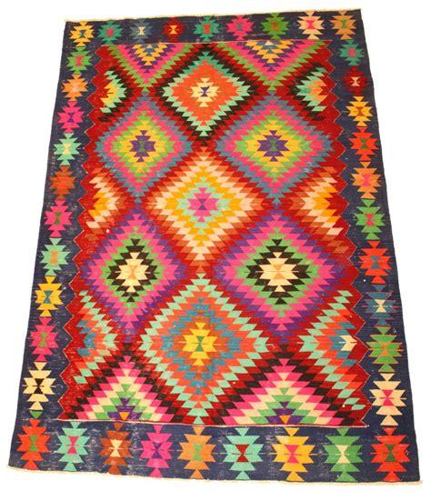 teppiche kelim kelim teppich t 252 rkischer 280 x 180 cm trendcarpet de