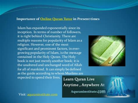 online quran tutorial importance of online quran tutor in present times
