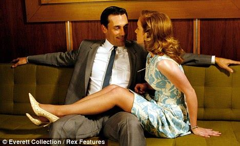 mad men on the couch mad men s don draper is played by a nerd says actor jon