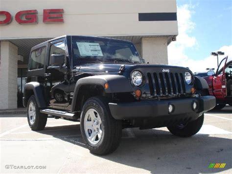Black Jeep Wrangler Used 2011 Black Jeep Wrangler Sport 4x4 37282774 Gtcarlot