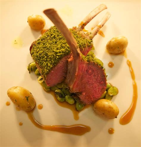 Herb Crusted Rack Of With Wine Jus by 17 Best Images About Plate On Summer