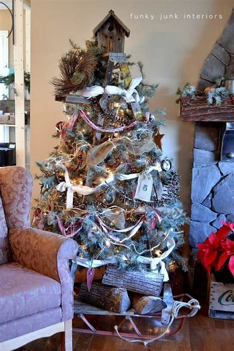 how to make a ladder christmas tree the of a stepladder treefunky junk interiors