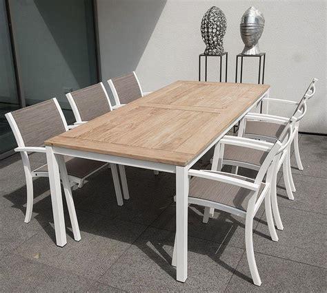 table de jardin et chaises stunning table et chaise de jardin blanche pictures