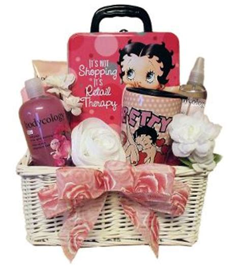 retail therapy betty boop and gift baskets on pinterest