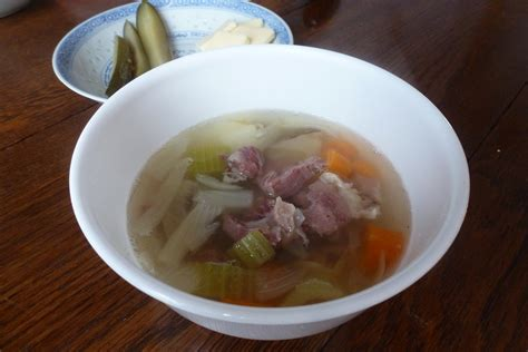 Oven Hock Second on ham hocks button soup