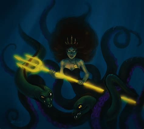 the little mermaid ursula vanessa deviantart deviantart ursula as vanessa newhairstylesformen2014 com