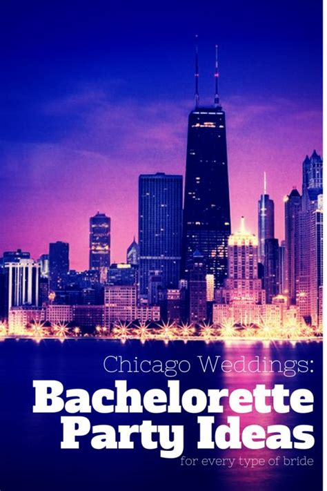 chicago themed decorations chicago bachelorette ideas chicago weddings