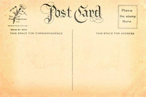 vintage postcard template postcard template to vintage postcard
