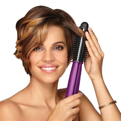 Hair Styler by The Frizz Fighting Ionic Hair Styler Hammacher Schlemmer