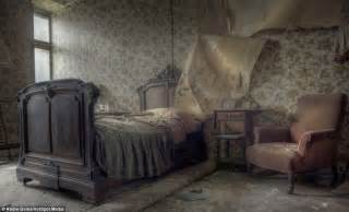 Creepy Bedroom by Inside The Abandoned Belgian Mansion Brimming With