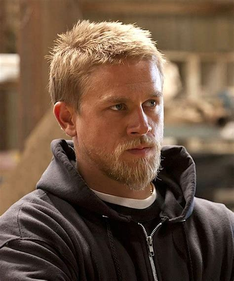 how to get the jax teller hair look 1000 images about charlie hunnam soa on pinterest ron