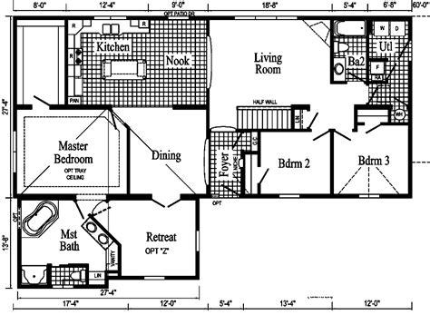 patriot homes floor plans patriot manufactured homes floor plans home plan