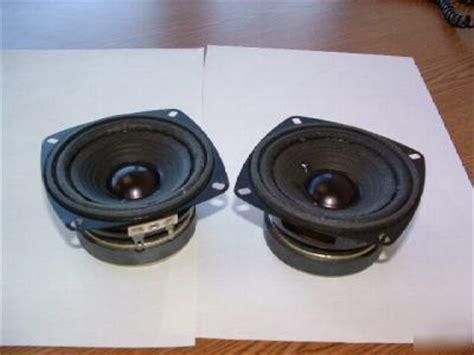 Speaker Toa 10 Watt speakers 3 5 quot 4 ohm 10 watt with 1lb magnet