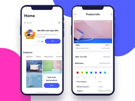 app layout trends the mobile app design trends that defined 2017