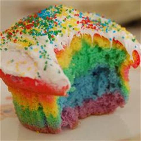 Rainbow Minny Roll the frugal happy national cupcake day