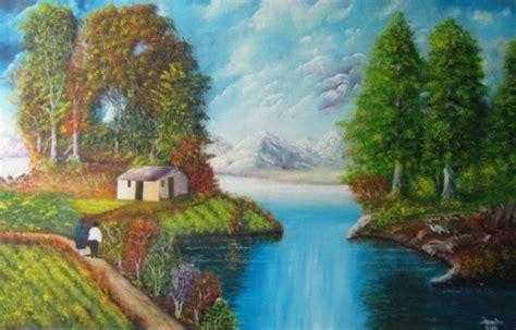 imagenes no realistas de paisajes imagenes de paisajes con casas imagui