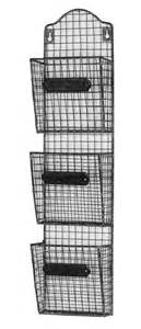 wire wall mounted post letter rack mulberry moon
