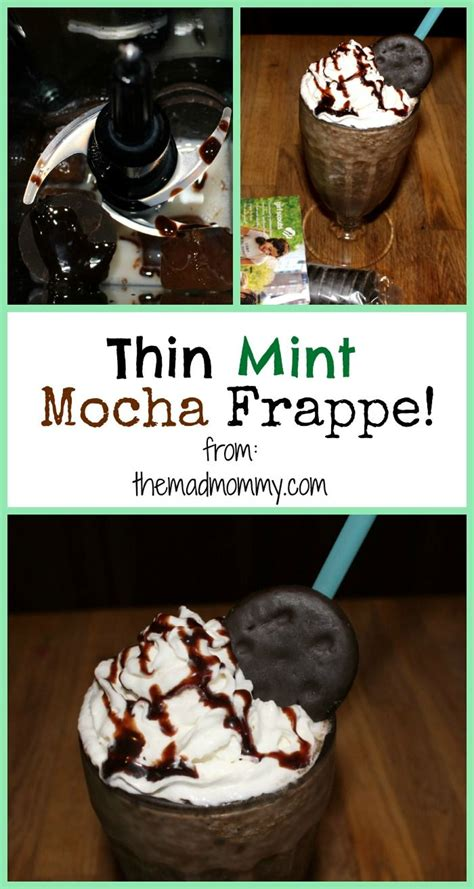 Thin Mint Recipe And All by Thin Mint Mocha Frappe Frappe Recipe Scouts And