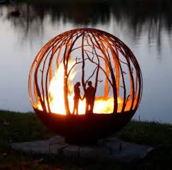 Gas Fire Pit Burner Kit by Winter Woods Fire Pit Sphere 37 The Fire Pit Gallery