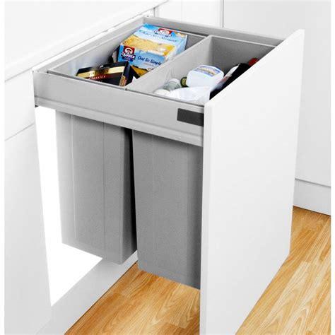 In Cupboard Bins - wesco pullboy z pull out bin 84l 600mm door