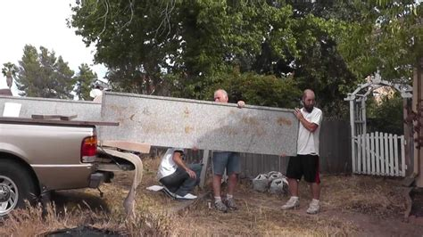 Transporting Granite Countertops by How To Install Granite Countertops On A Budget Part 2