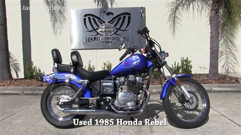 1985 Honda Rebel by Used Honda Rebel 1985 For Sale In Ta Fl Amazing