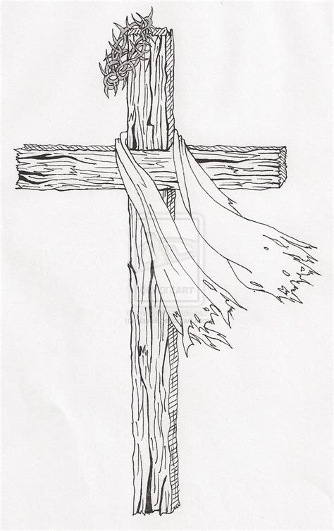 cross tattoo line art sketches of crosses 25 unique cross drawing ideas on