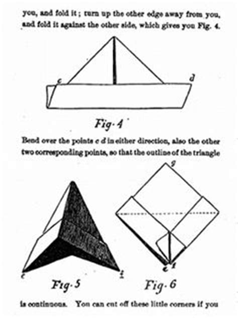 How To Fold A Boat With Paper - how to make an origami paper boat 2 diy and crafts