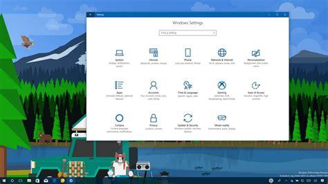 windows 10 fall creators update top 10 new features what s new with the settings app in the windows 10 fall