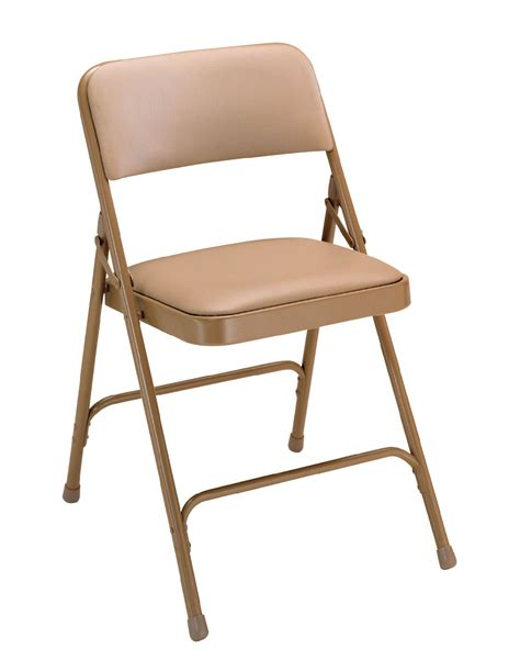 vinyl seat steel folding chairs set    folding chairs