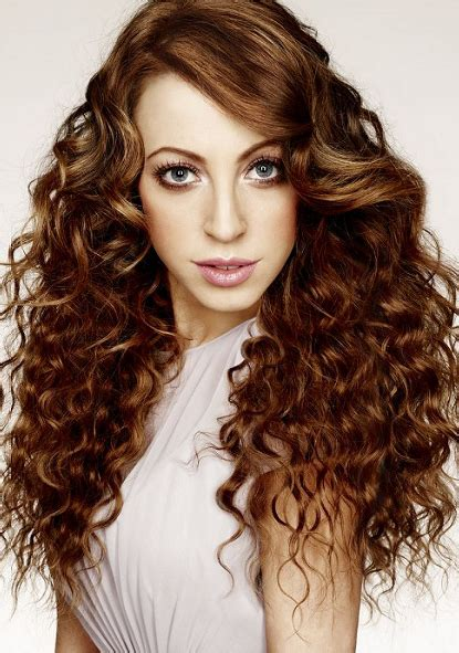 perm with side bangs pictures sophisticated long hairstyles with side swept