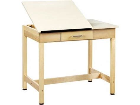 Small Drafting Desk Drawing Table 2 Top Small Drawer 30 Quot Drafting Tables