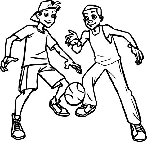 coloring pages for basketball players basketball coloring pages kids