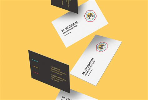 template mockup card set free falling business cards mockup graphicsfuel