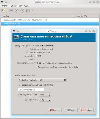 configuring a new ubuntu 11 04 kvm virtual network redes privadas virtuales november 2010