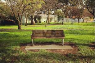 picture of a park bench park bench instagram account reflects melbourne man s deep