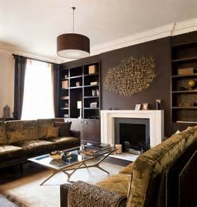 brown living rooms living room interior design ideas browns are modern