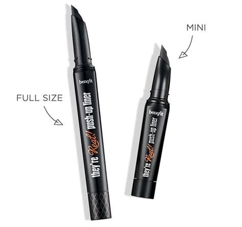 tattoo liner travel size they re real gel eyeliner pen travel size mini benefit