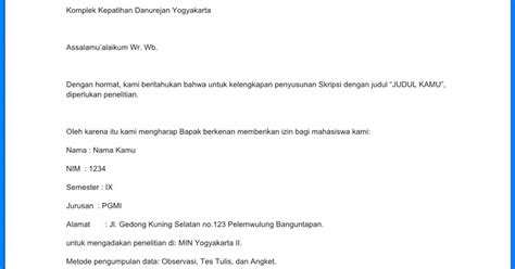 contoh surat permohonan izin penelitian wiki edukasi